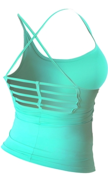 Bia Brazil Tanktop 4464 Cool Fit Turquoise