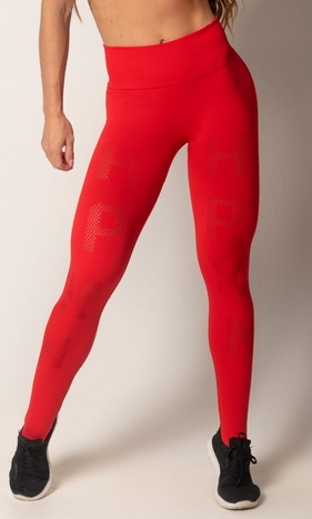 HIPKINI Run Tights Seamless Red