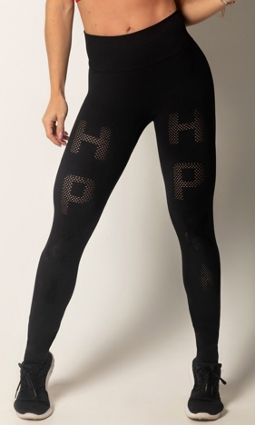 HIPKINI Run Tights Seamless Black