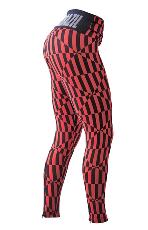 Bia Brazil Leggings 3115 Zip Red Illusion