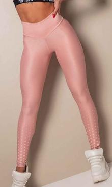 HIPKINI Spots Scrunch Tights  Diva Pink