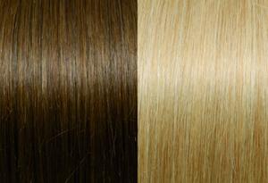 Exclusive Line #12/DB3 Golden Blond With Dark Blond Stripes
