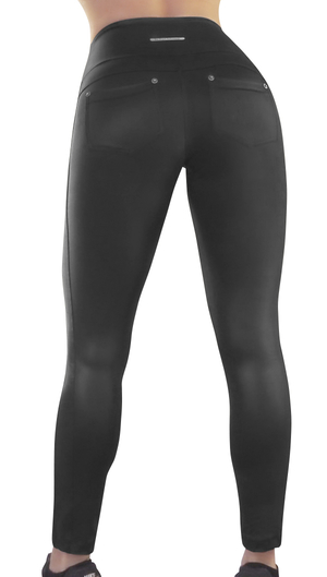 Raw By Adriana Kuhl  Magic Tights Shiny Black