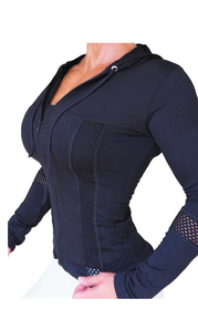 Bia Brazil Jacket Net Black