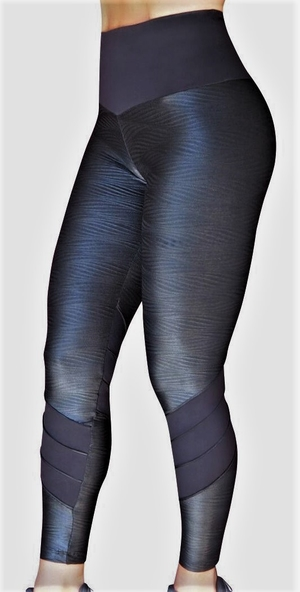 Raw By Adriana Kuhl Tights Crush Leather