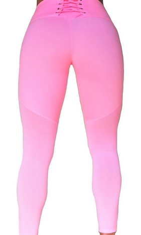 Raw By Adriana Kuhl Tights Crush Soft Pink