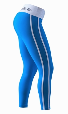 Bia Brazil Leggings 2462 Curves Blue