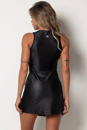 HIPKINI Lace Dress Black
