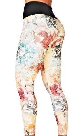 Bia Brazil  Flower Tights Light