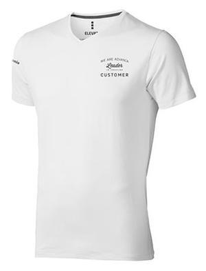 T-shirt vit, herr