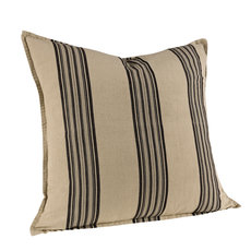 CECILE GREY STRIPE Cushioncover