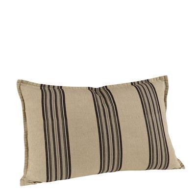 CECILE GREY STRIPE Cushioncover