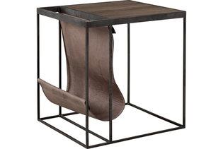 MAGAZINE BLACK Side table