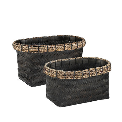 DAVAO 2-set Rectangular basket