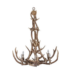 NEW ANTLER CHANDELIER