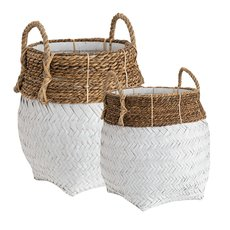 DAVAO 2-set Round basket