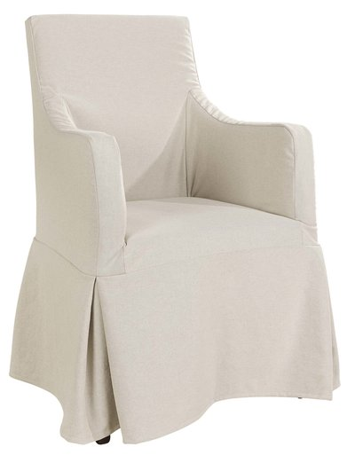 NANCY Dining armchair with skirt (more options)