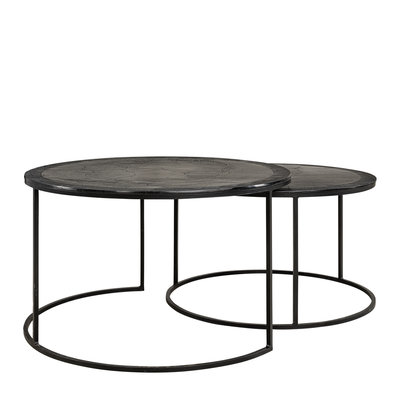 AMADEO Coffee table 2-set