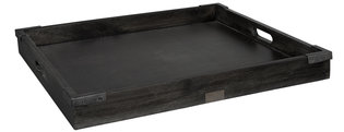 SQUARE KINGS ROAD Tray Black