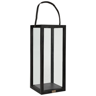 FLOOR LANTERN Black Big