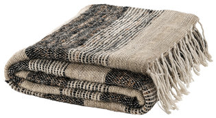 ABRIENNE RAW NATURE Throw