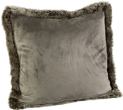 GREY BEAR VELBOA Cushioncover