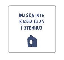 Glas i stenhus