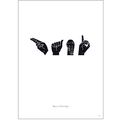 HAND - Have A Nice Day (int.)