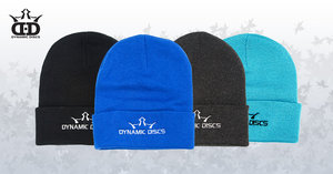 Dynamic Discs Beanie Solid Knit