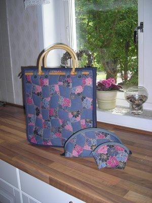 Monas väskor i flätteknik