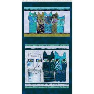 Clothworks Feline Frolic