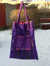 Väska till skärmatta och linjaler