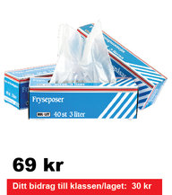 Fryspåsar 3 liter 3 - pack