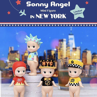 Sonny Angel New York 2019 - kommer i Dec
