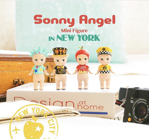 Sonny Angel New York 2019 - kommer i Nov