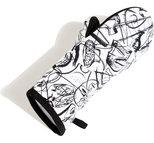 BBQ Glove KL OKB Vit One size