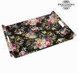 Bricka svart blomster - Kitchen's Deco Samling by Bravissima Kitchen