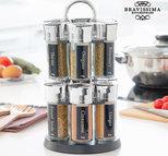 Bravissima Kitchen - kryddhylla med 12 kryddor
