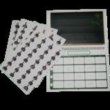 Extra kalender med klistermärken