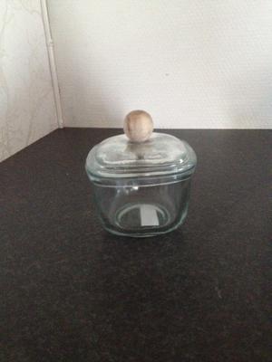 Rund skål med lock från IB Laursen