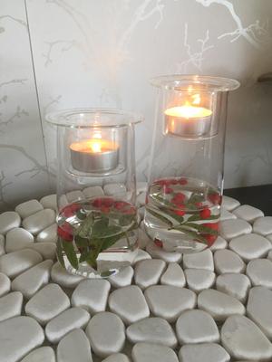 Ljuslykta i glas, liten Storefactory