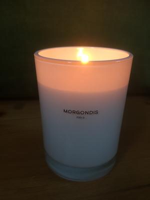 """Doftljus med mild doft """"Morgondis"""" från Storefactory"""