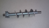 Pellet screw to TurboAir