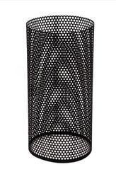 Perforerade ytterrör 500mm  svart