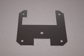 Sheet metal front of gasket the gable