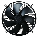 AXIAL FANS WITH PROTECTIVE GRID
