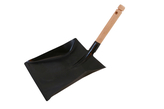 Ash spade with wooden shaft