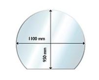 Golvglas 950x1100