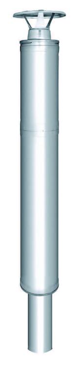 Harvia stålskorsten 1500