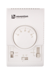 3-stegs hastighetskontroll med termostat